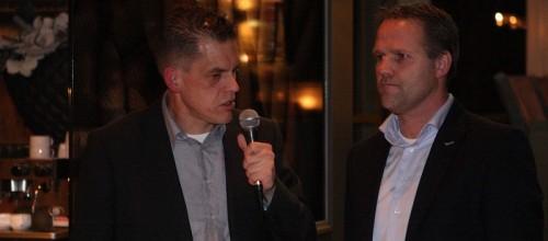 Van Dijkhuizen in gesprek met Gert Jan van den Berg