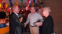 Felicitaties van oud voorzitter Lou Bouman
