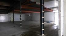 Achter de palen zat het Boni-magazijn