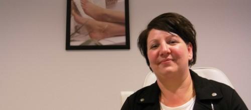 Margarethe van Rees, pedicure