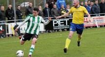 Duinkerken maakte veel minuten in het eerste, zoals tegen Staphorst. Foto Helmich Lubbers