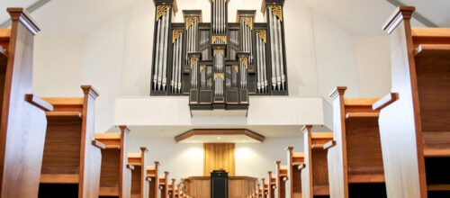 Oberlingerorgel in de Bethelkerk foto: Erik Eenkhoorn