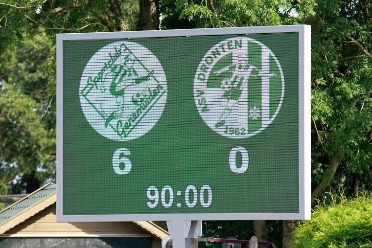 KNVB districtsbekerwedstrijd SC Genemuiden - ASV Dronten