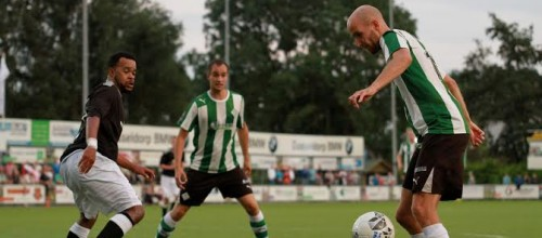 Martijn Jansen scoort twee keer. Foto Helmich Lubberts