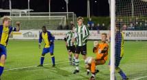 Vrijdag scoorde Van Dalfsen drie keer. Foto Erik Eenkhoorn