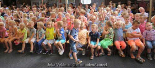 Opening schooljaar. Tekst en foto's :  Joke Veldman