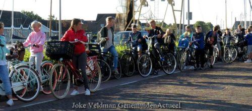 Daar gaan ze... Tekst en Foto's : Joke Veldman