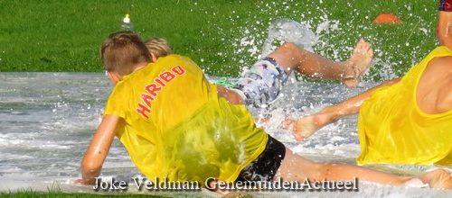 Watervoetbal... Tekst en foto's : Joke Veldman