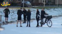 Ja hoor eindelijk op het ijs... Tekst en film Pieter Polman