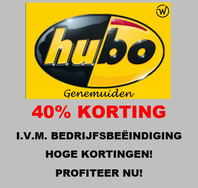 Hubo verlichting 40%