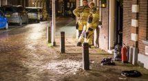 Doot het handelen van de bewoners had de brandweer niet veel te doen. Tekst en foto's: Erik Eenkhoorn