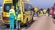Hulpdiensten in actie op Koningsdag. Erik Eenkhoorn
