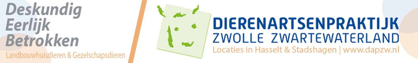 Dierenartsenpraktijk Zwolle Zwartewaterland